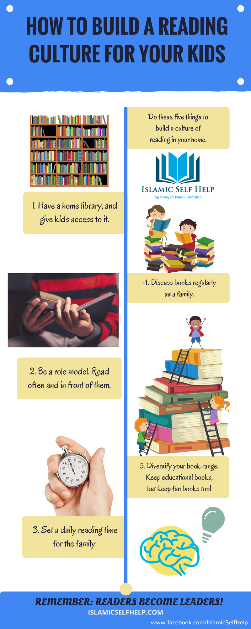 How to build a culture of reading for your kids