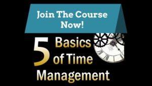 Time Management Course