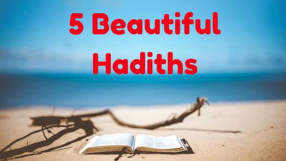Beautiful hadiths