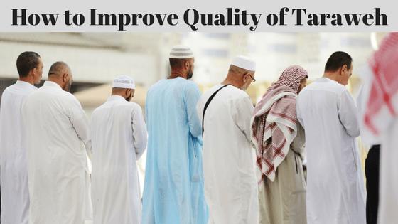 Taraweh Article