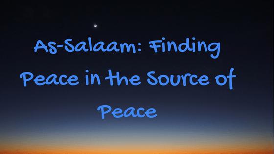 As Salaam Peace
