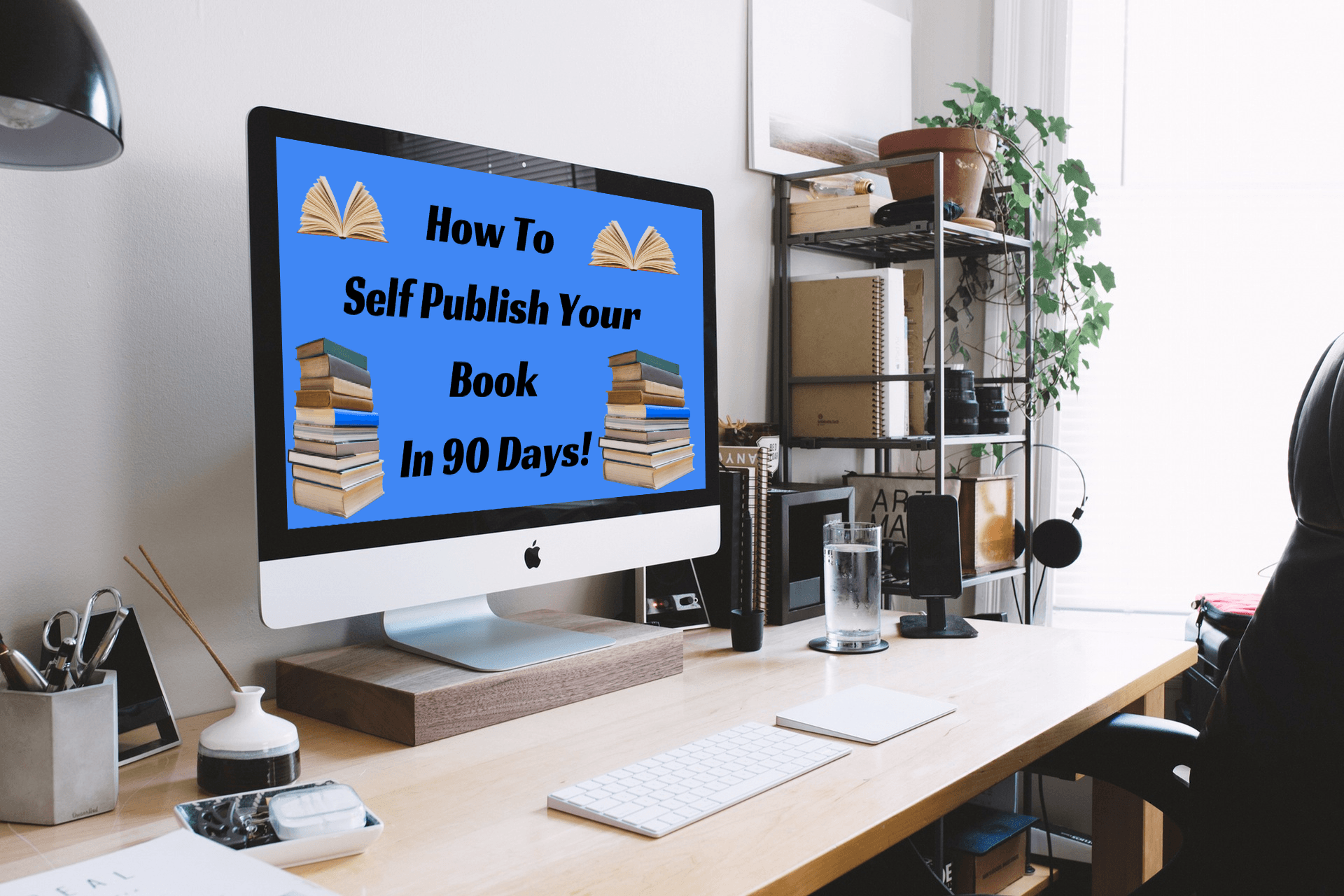 Learn how to self publish your books