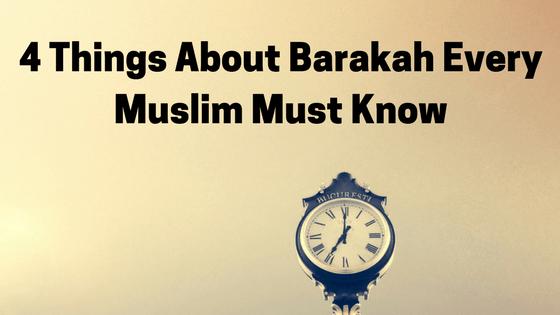 About Barakah Definition