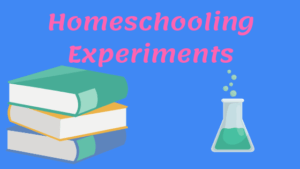 Homeschooling Experiments